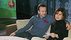 Аркадий Дворкович с женой. Архивное фото