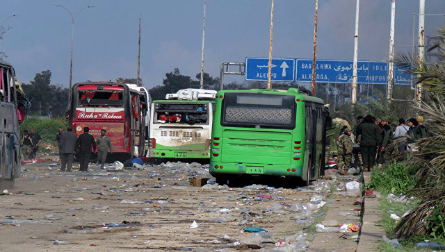 ВАлеппо террористы «подманивали» детей кминированной машине