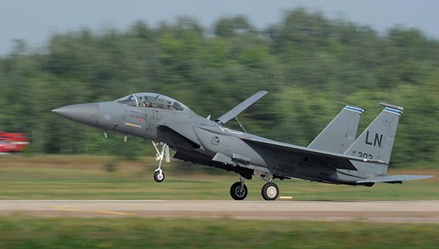 Американский истребитель F-15 Eagle. Архивное фото