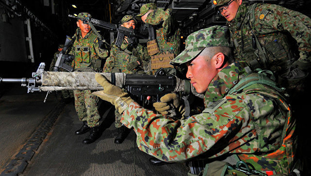 Японские военные. Архивное фото
