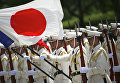 Почетный караул сил самообороны Японии