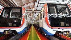 Новые поезда Москва перевезли около 400 тысяч пассажиров метро. Архивное фото