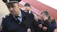 Президент Внешпромбанка Лариса Маркус (справа). Архивное фото