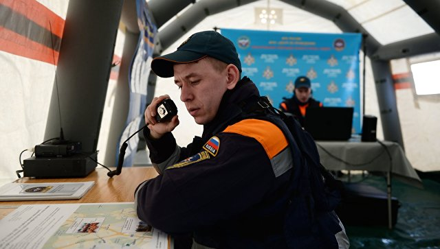 Командно-штабные учения МЧС России. Архивное фото