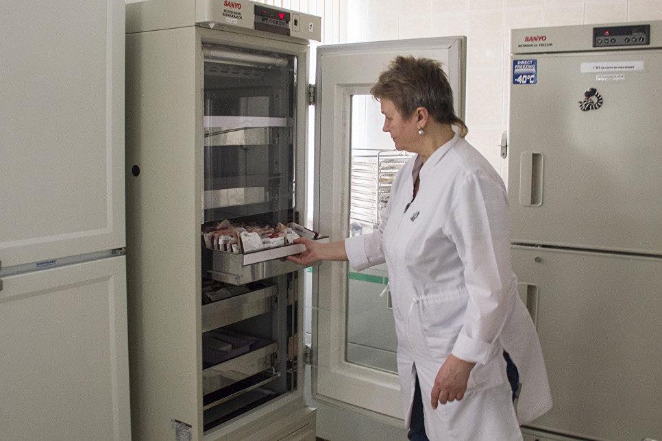 Хранение эритроцитсодержащих сред