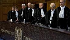 Слушания в Международном суде ООН по иску Украины к России в связи с нарушением конвенции по борьбе с финансированием терроризма. 19 апреля 2017 года