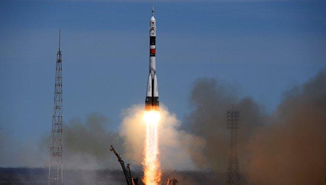 Запуск корабля «Союз МС-06» сновым экипажем для работы наМКС