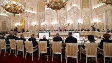 Президент РФ Владимир Путин проводит заседание Российского организационного комитета Победа. 20 апреля 2017
