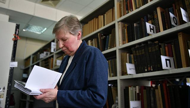 Светлана Владимировна Миронова, сотрудник Центральной библиотеки им. Н. А. Некрасова