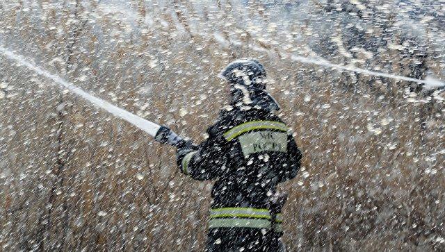 Пожарные локализовали возгорания в Канске и Лесосибирске