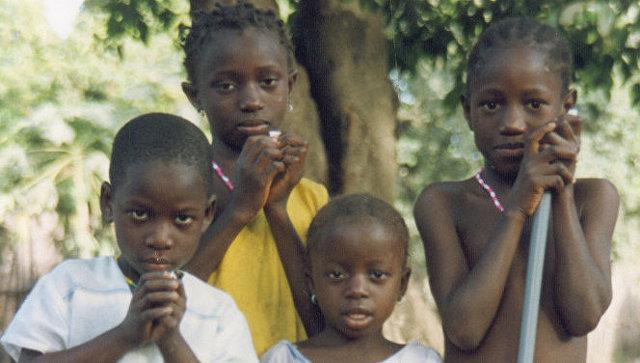 Африканские дети. Архивное фото