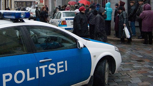 Автомобиль эстонской полиции, архивное фото