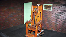 Электрический стул. Архивное фото