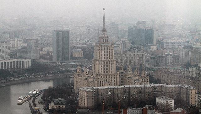Панорама Москвы. Архивное фото