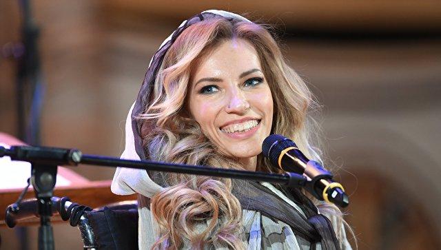 Юлия Самойлова приняла участие в концерте Песни великой Победы. архивное фото