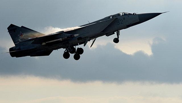 В Нижегородской области разбился истребитель МиГ-31