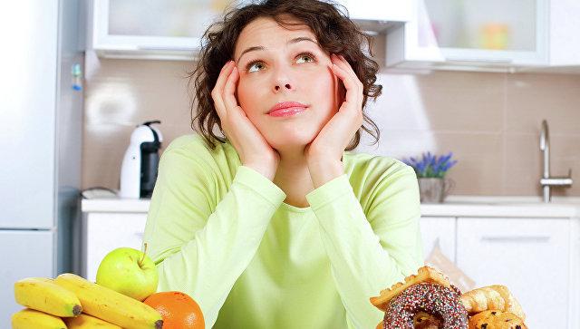 Девушка на диете. Архивное фото