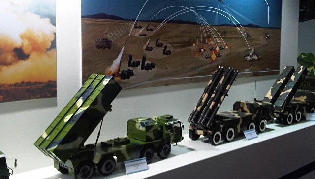 Российское вооружение на выставке в Китае