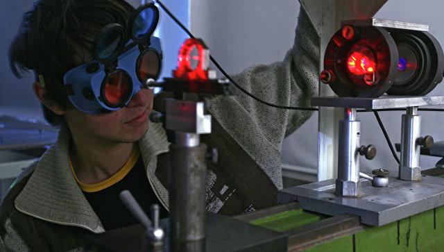В одной из лабораторий Московского физико-технического института. Архивное фото