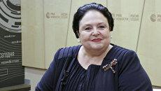 Пресс-конференция главы дома Романовых, великой княгини Марии Владимировны