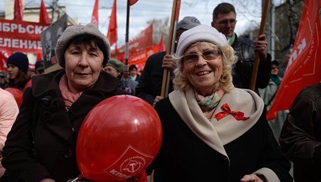 ВСимферополе напервомайскую демонстрацию вышли 25 тыс. человек