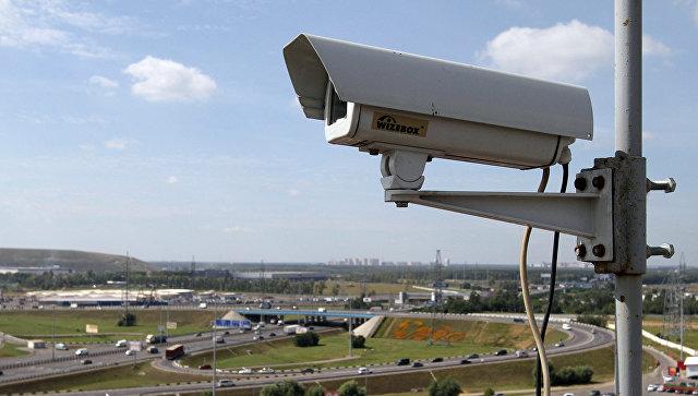 Камеры видеонаблюдения Москвы. Архивное фото
