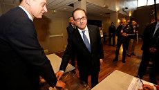 Франсуа Олланд проголосовал во втором туре выборов президента во Франции