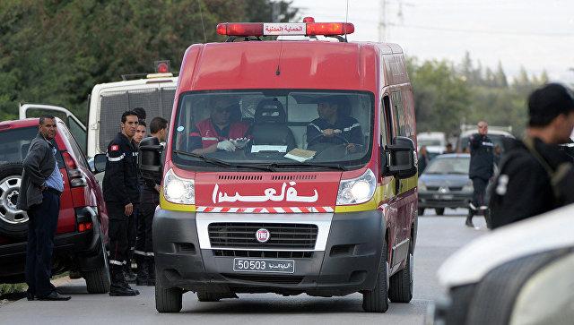 Машина скорой помощи в Тунисе. Архивное фото