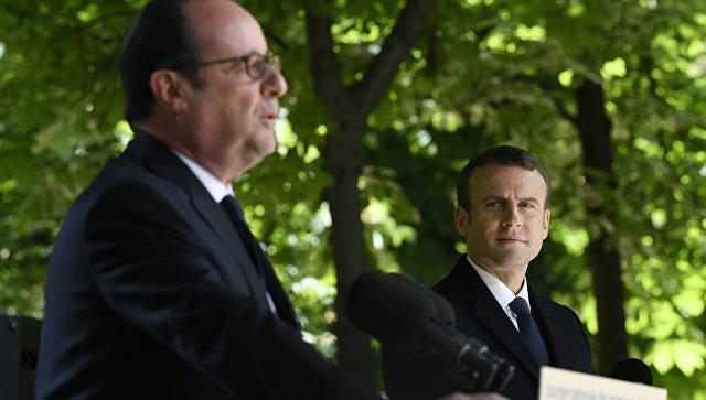 Олланд ошибся вовремя собственной последней официальной речи