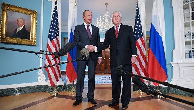 Лавров обсудил сТрампом иТиллерсоном создание зон деэскалации вСирии
