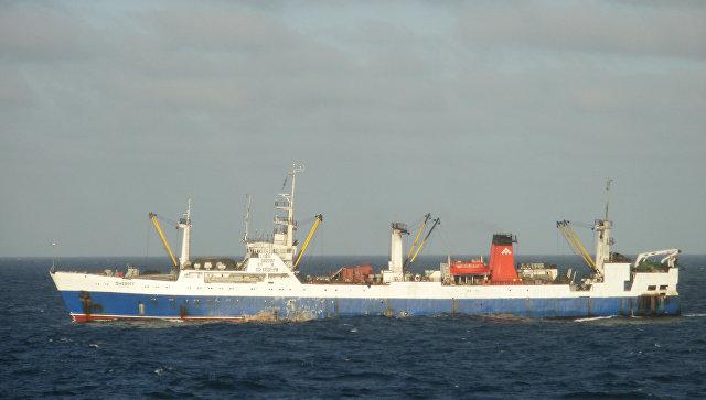 Судно сроссийскими моряками арестовали вНамибии