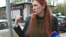 Москвичка, на которую напал водитель BMW, рассказала об инциденте