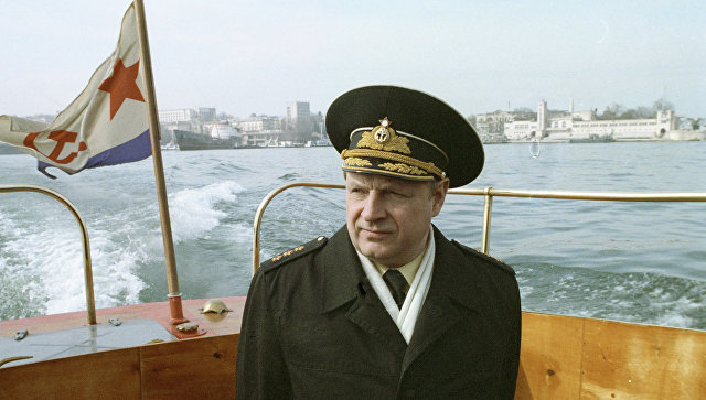 Адмирал Игорь Касатонов. Архивное фото