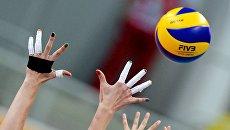 Волейболистки. Архивное фото