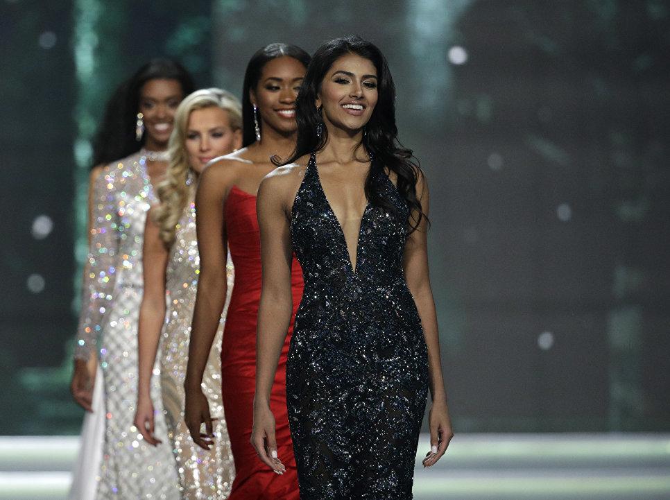 Мисс Нью-Джерси Чави Верг во время конкурса Мисс США в Лас-Вегасе