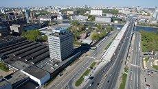 Автозаводская улица и территория бывшего автозавода АМО ЗИЛ в Москве