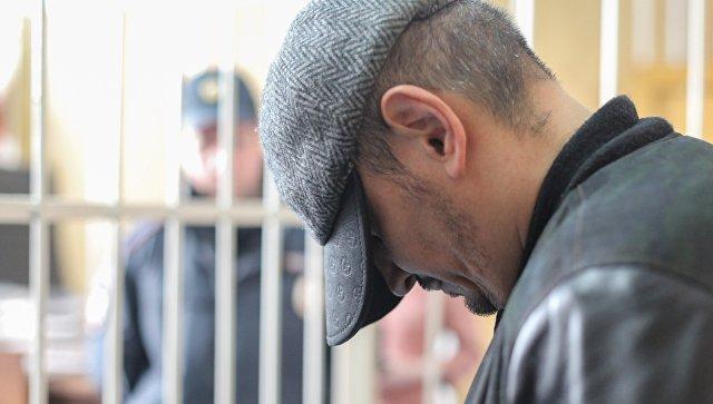 Водитель BMW Р.Вьюнов на избрании ему меры пресечения в Хамовническом суде