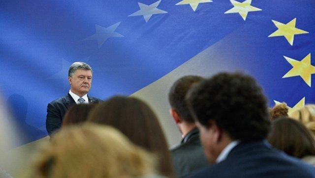 Президент Петр Порошенко во время пресс-конференции, 14 мая 2017