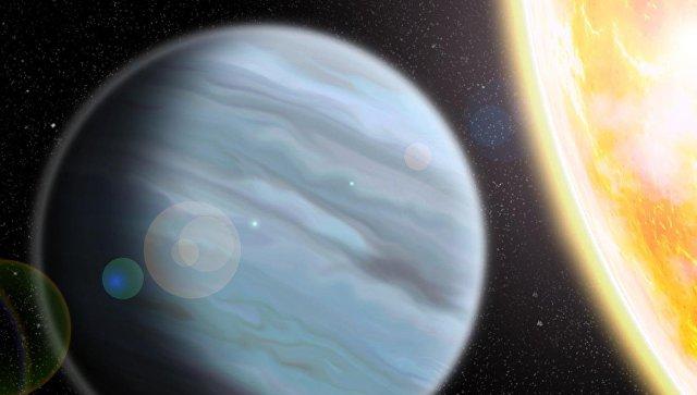 Ученые открыли гигантскую планету, состоящую из