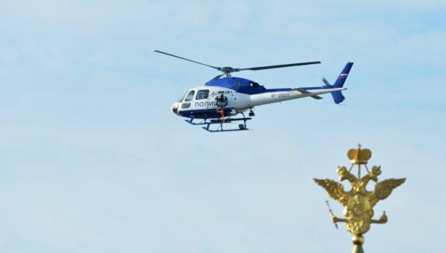Что случилось почему летает вертолет на москвой