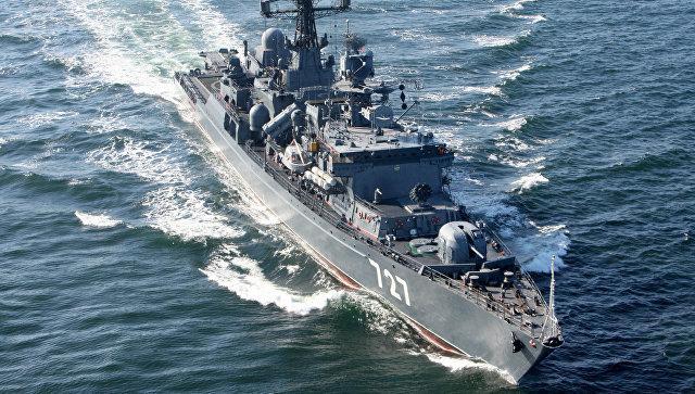 Сторожевые корабли ВМФ России вошли вакваторию Средиземного моря