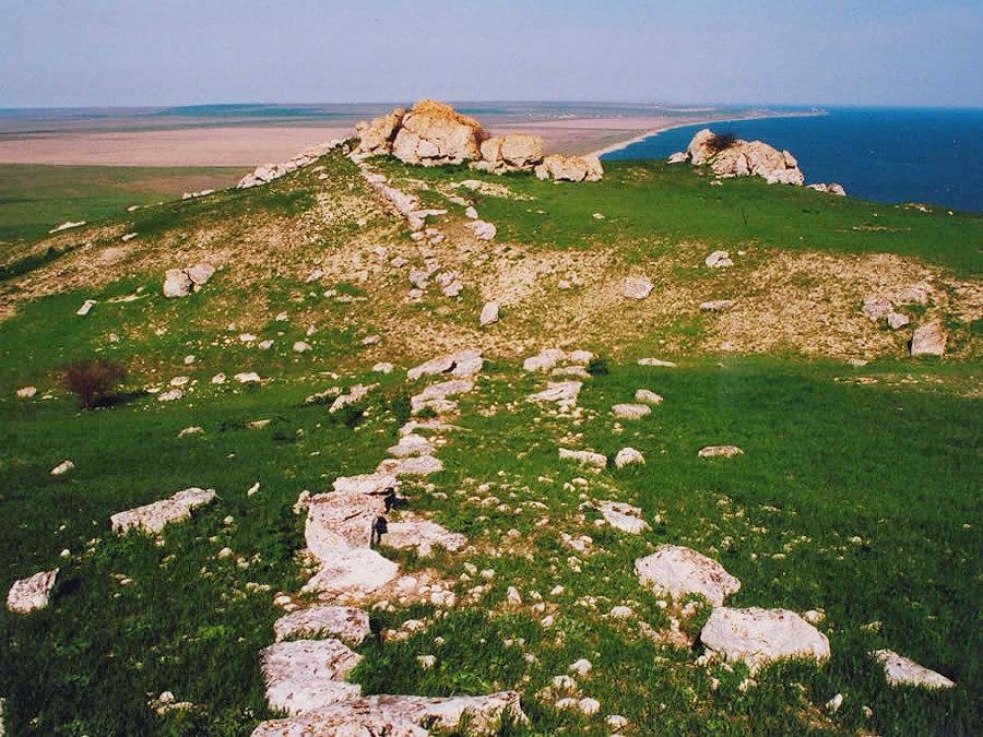 Руины древнего города Киммерик