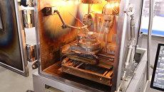 Первый в РФ 3D-принтер для печати крупных изделий для космоса показали в Томске