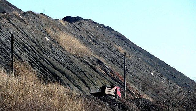 Добыча и отгрузка угля на шахте имени С.М. Кирова государственного предприятия Макеевуголь