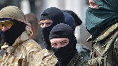 Бойцы батальона Донбасс, Украина