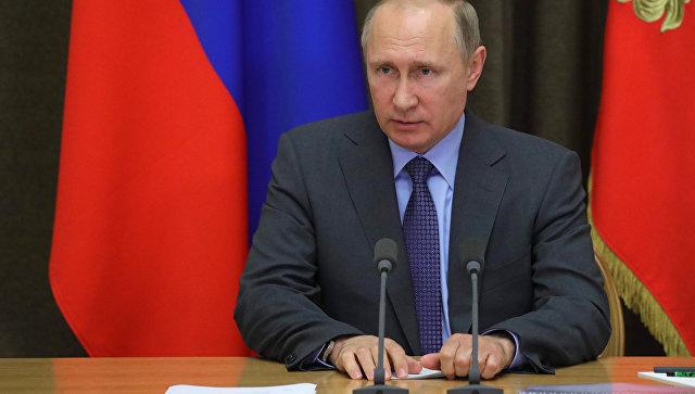 Владимир Путин проведёт встречу сглавой ФИФА