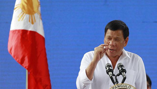 Дутерте: Террористы отрезали голову главе городской милиции наФилиппинах