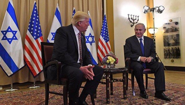 Дональд Трамп и Биньямин Нетаньяху. Архивное фото