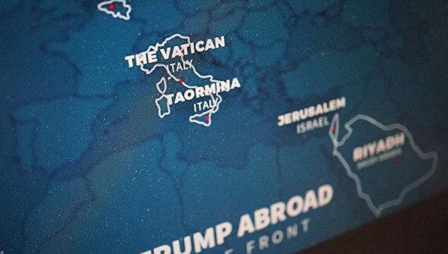 Трамп опозорился в социальная сеть Facebook, «подарив» Италии часть Франции