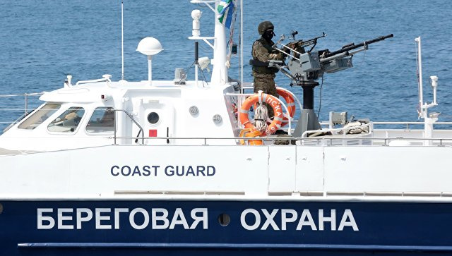 Киев признал, что задержанное в России судно прошло границу без разрешения